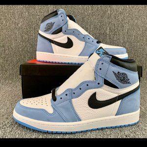 Nike Air Jordan 1 Retro High OG University Blue young lady's new shoes